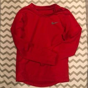 Nike Dri Fit Red Boys Shirt- Size 7
